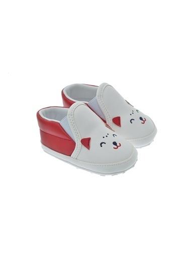Freesure 211617 Kırmızı Freesure Kız Bebek Patik Bebek Ayakkabı  Kırmızı